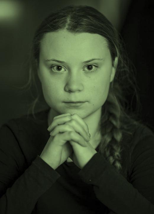 Lo que ve Greta Thumberg