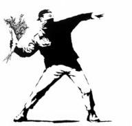 Banksy .