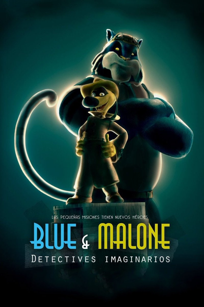 Blue & Malone, Detectives imaginarios