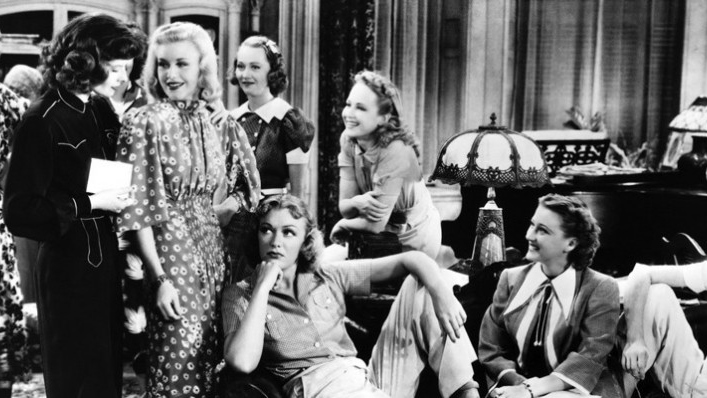 Damas del teatro