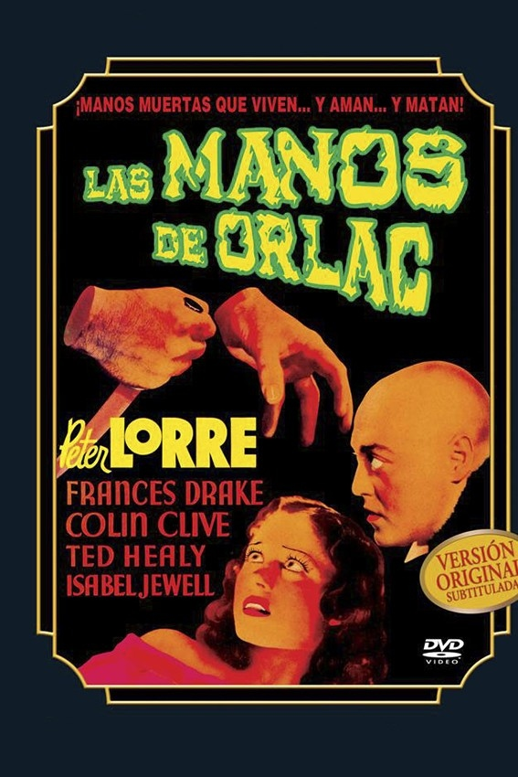 Las manos de Orlac (Mad Love)