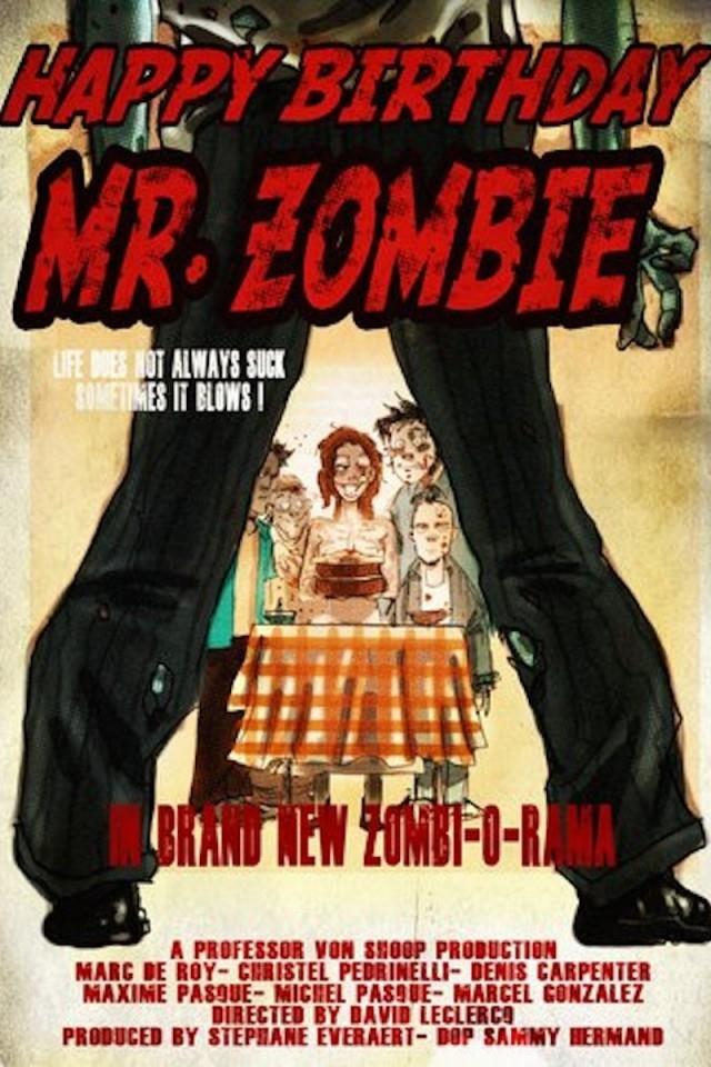 Happy Birthday Mr. Zombie