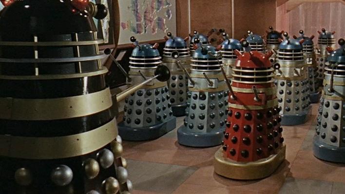 Dr. Who y los Daleks