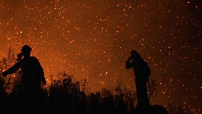 La vida en llamas