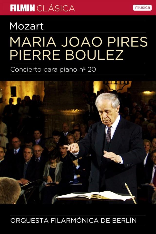 Pierre Boulez y Maria Joao Pires en concierto