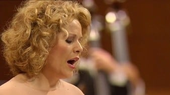 Berg, Schubert i Mahler per Fleming i Abbado
