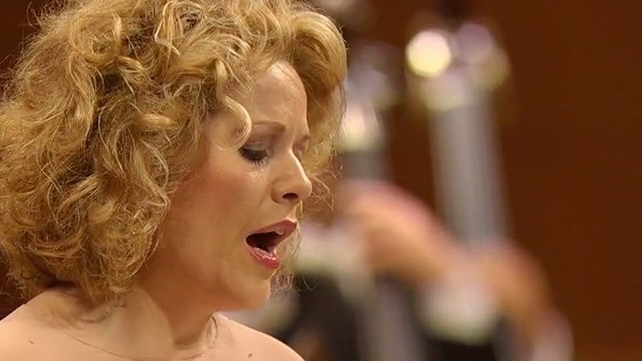 Berg, Schubert y Mahler por Fleming y Abbado