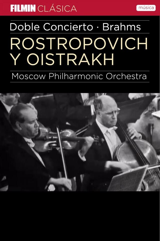 Rostropóvich y Oïstrakh interpretan a Brahms