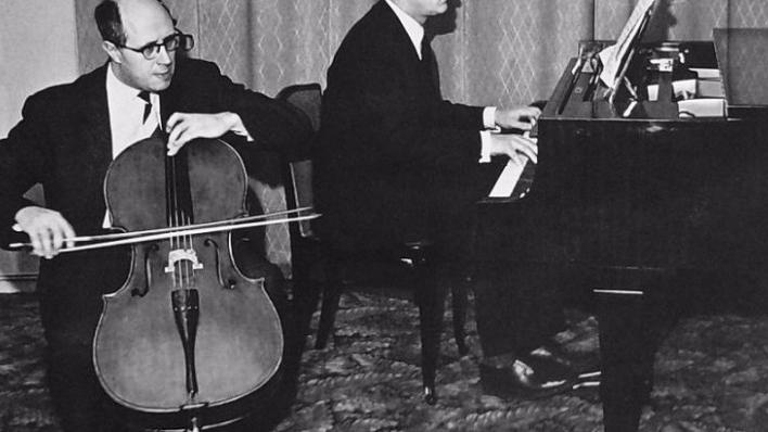 El encuentro: Rostropovich, Richter y Beethoven