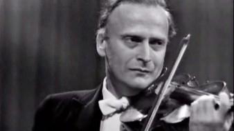 Menuhin interpreta a Beethoven