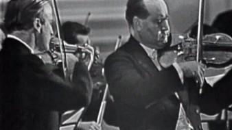 Menuhin i Oistrakh, dos violins per Bach