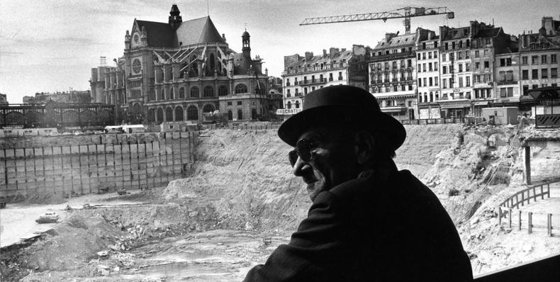 Robert Doisneau: a través de la lente