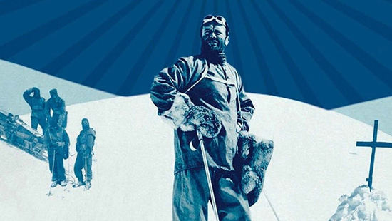 Scott en la Antártida