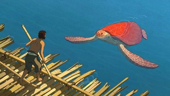 La tortuga vermella