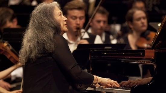 Concert amb Martha Argerich