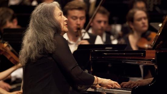 Concierto con Martha Argerich