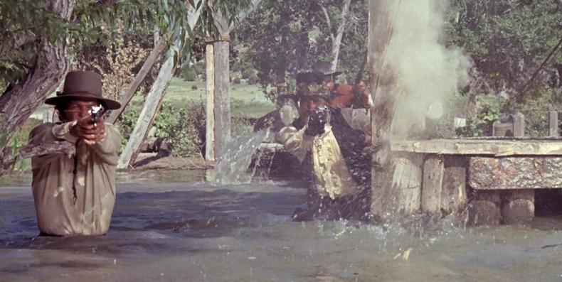Barquero: Los forajidos de Río Bravo