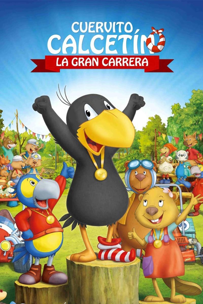 Cuervito Calcetín: La gran carrera