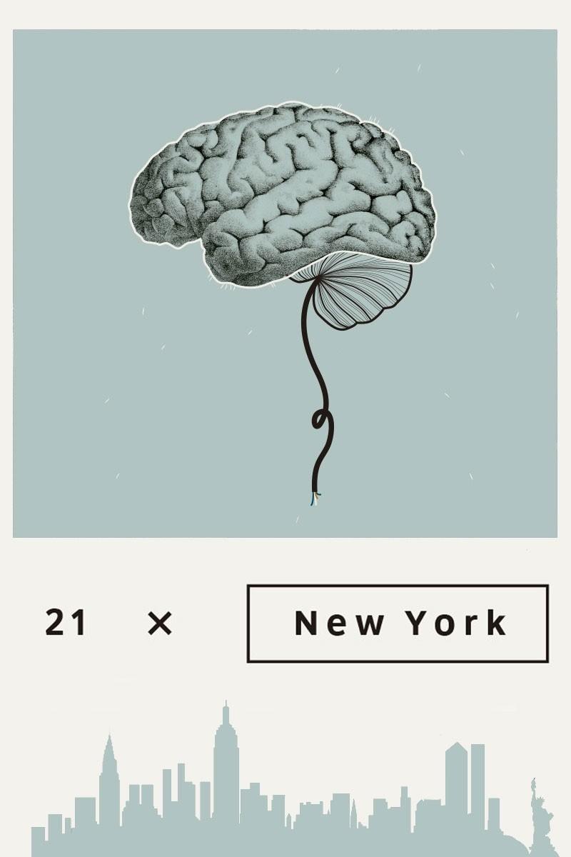 21 x New York