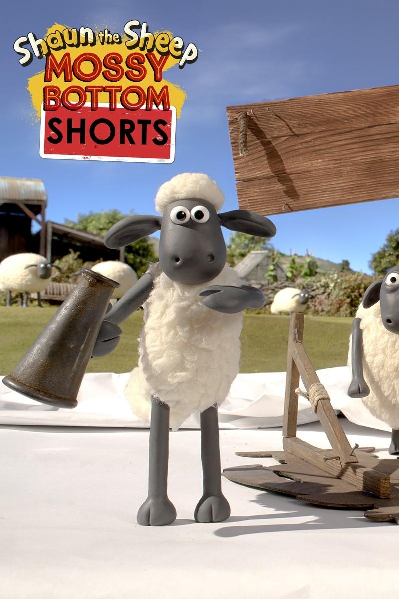 La Oveja Shaun: Mossy Bottom Shorts