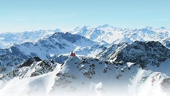 Una sinfonía de cumbres: los Alpes desde arriba