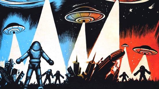 La Tierra contra los platillos volantes