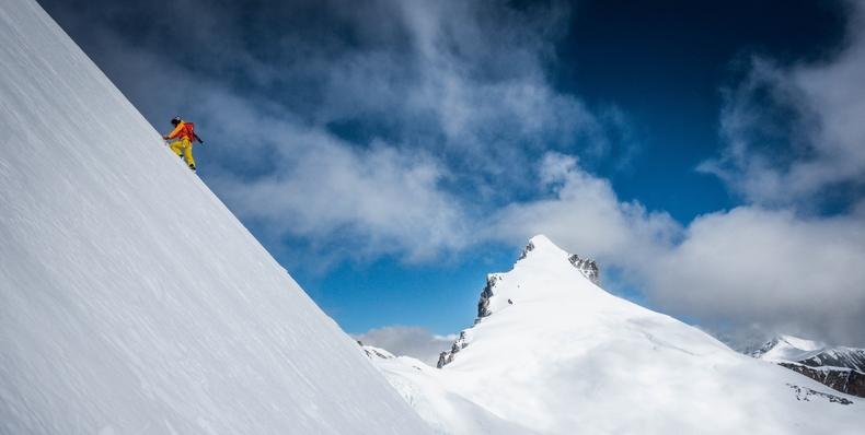 Killian Jornet, camino al Everest