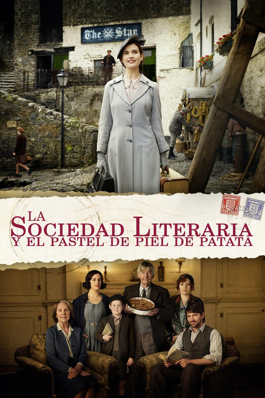 La societat literària i de pastís de pela de patata