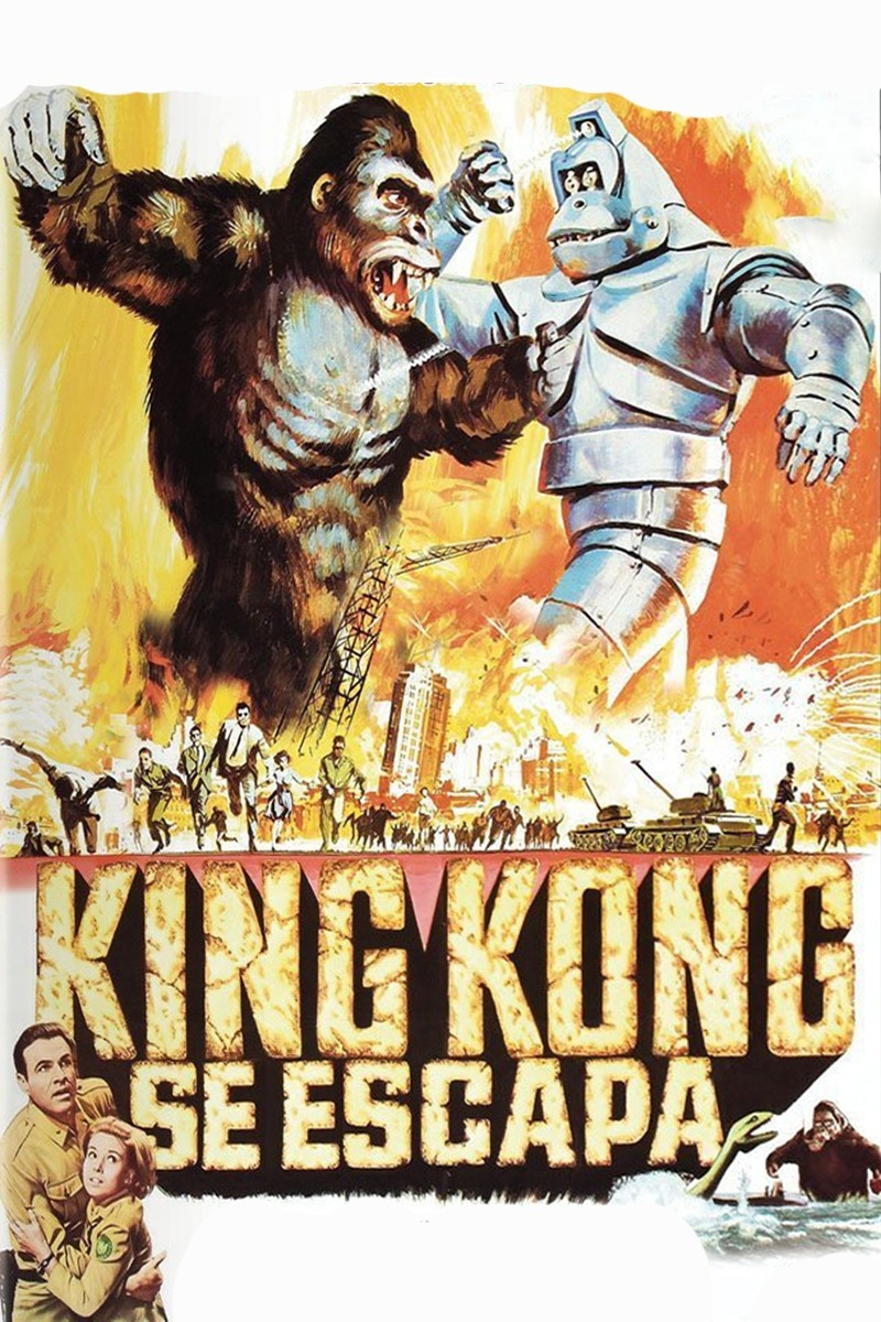 King Kong se escapa