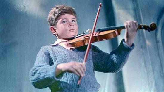 El violín y la apisonadora
