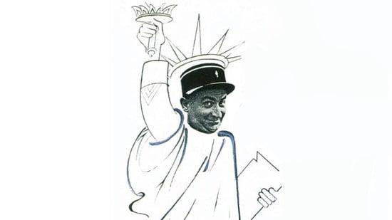 El gendarme en Nueva York