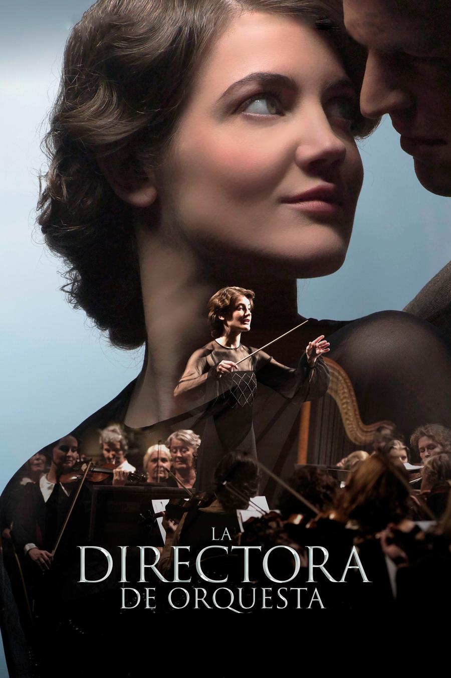 La directora de orquesta