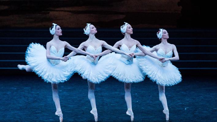 El lago de los cisnes de Nuréyev