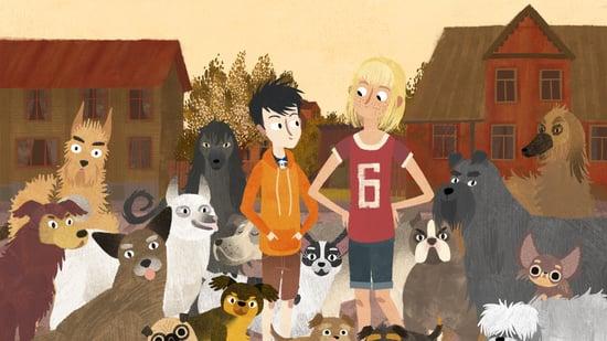 Jacob, Mimi y los perros del barrio