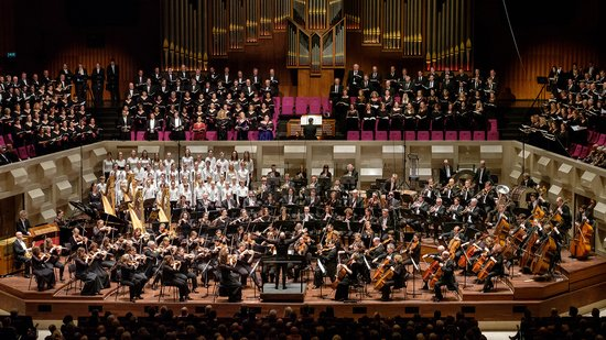 La vuitena simfonia de Mahler