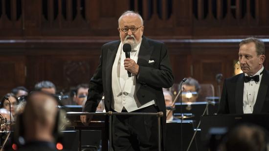 Penderecki dirige a Penderecki