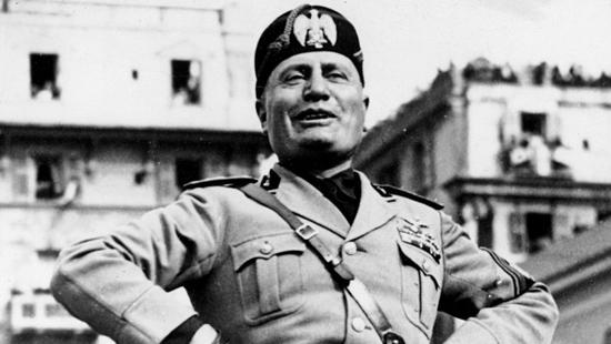 Trabajando para Mussolini