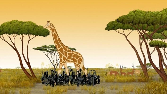 Kirikú i els animals salvatges