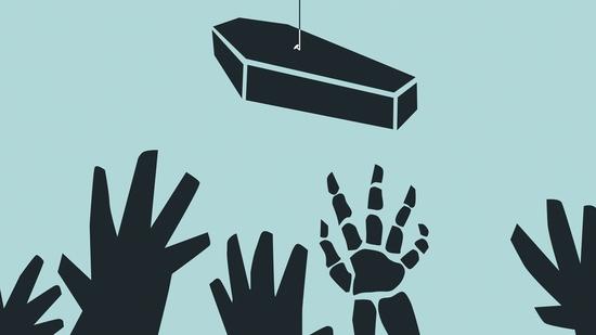 Los muertos van deprisa