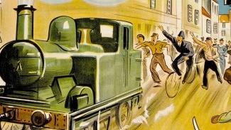 Los apuros de un pequeño tren