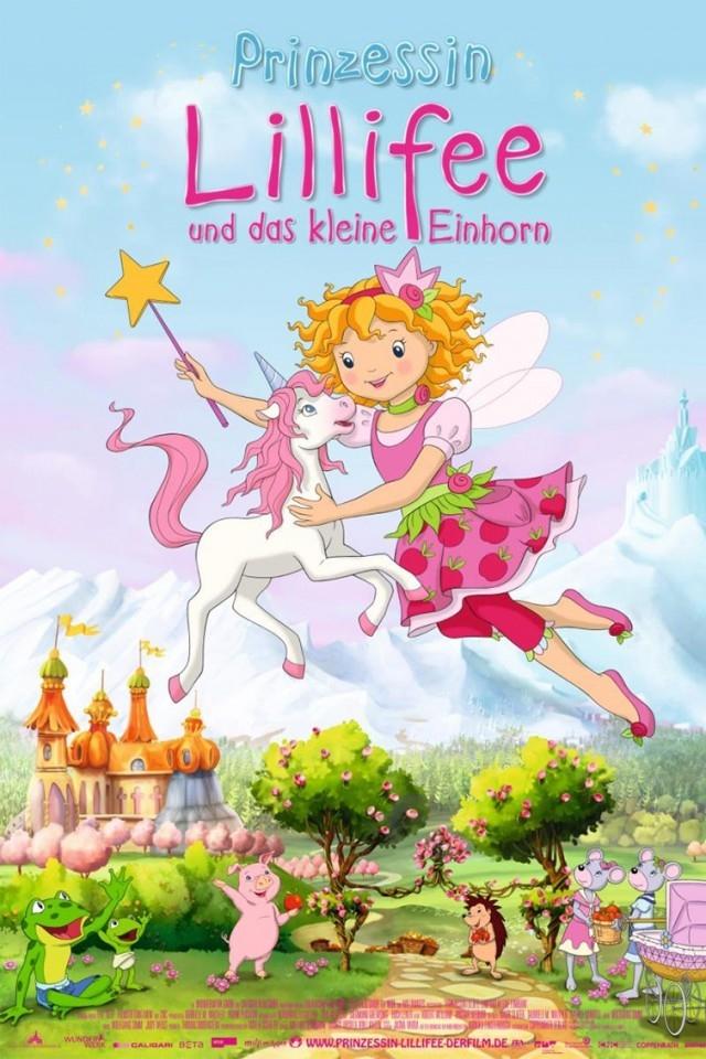 Lily, la princesa hada y el pequeño unicornio