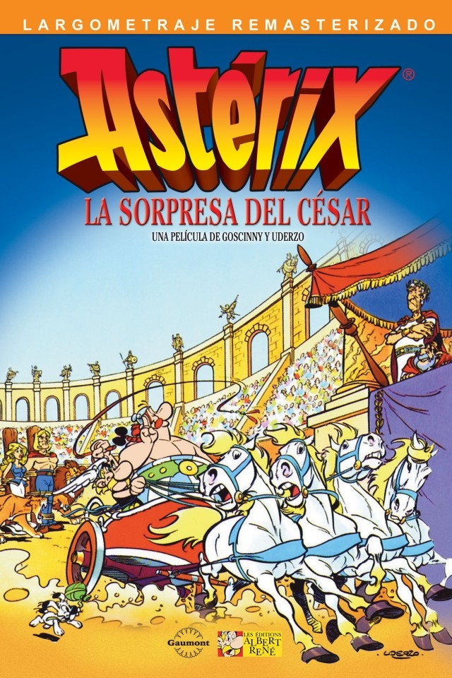 Astérix y la Sorpresa de César