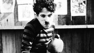 Charlot, campeón de boxeo