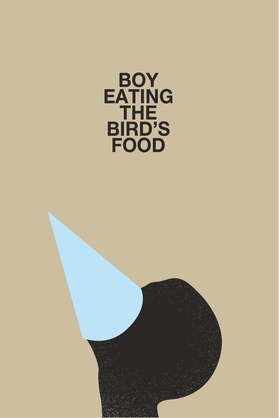 Boy Eating the Bird's Food