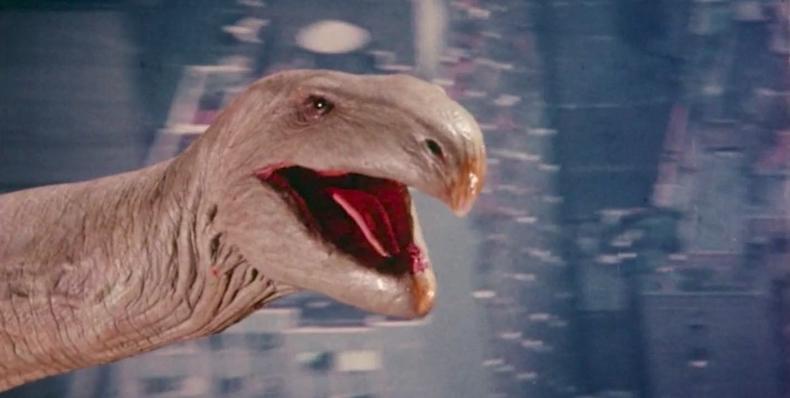 La serpiente voladora