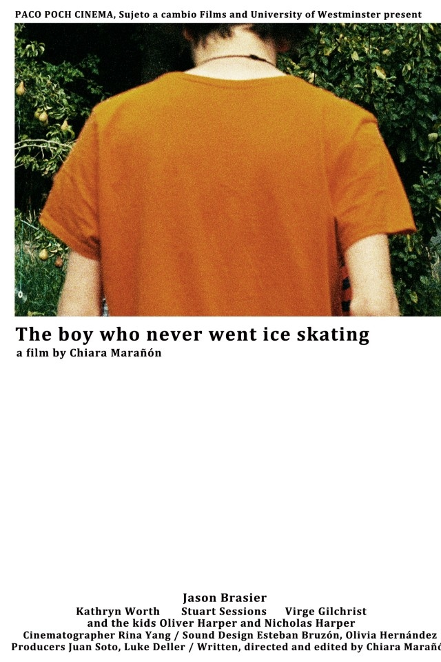 The boy who never went ice skating