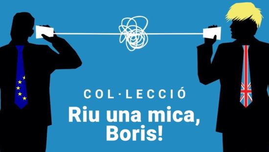 Riu una mica, Boris!