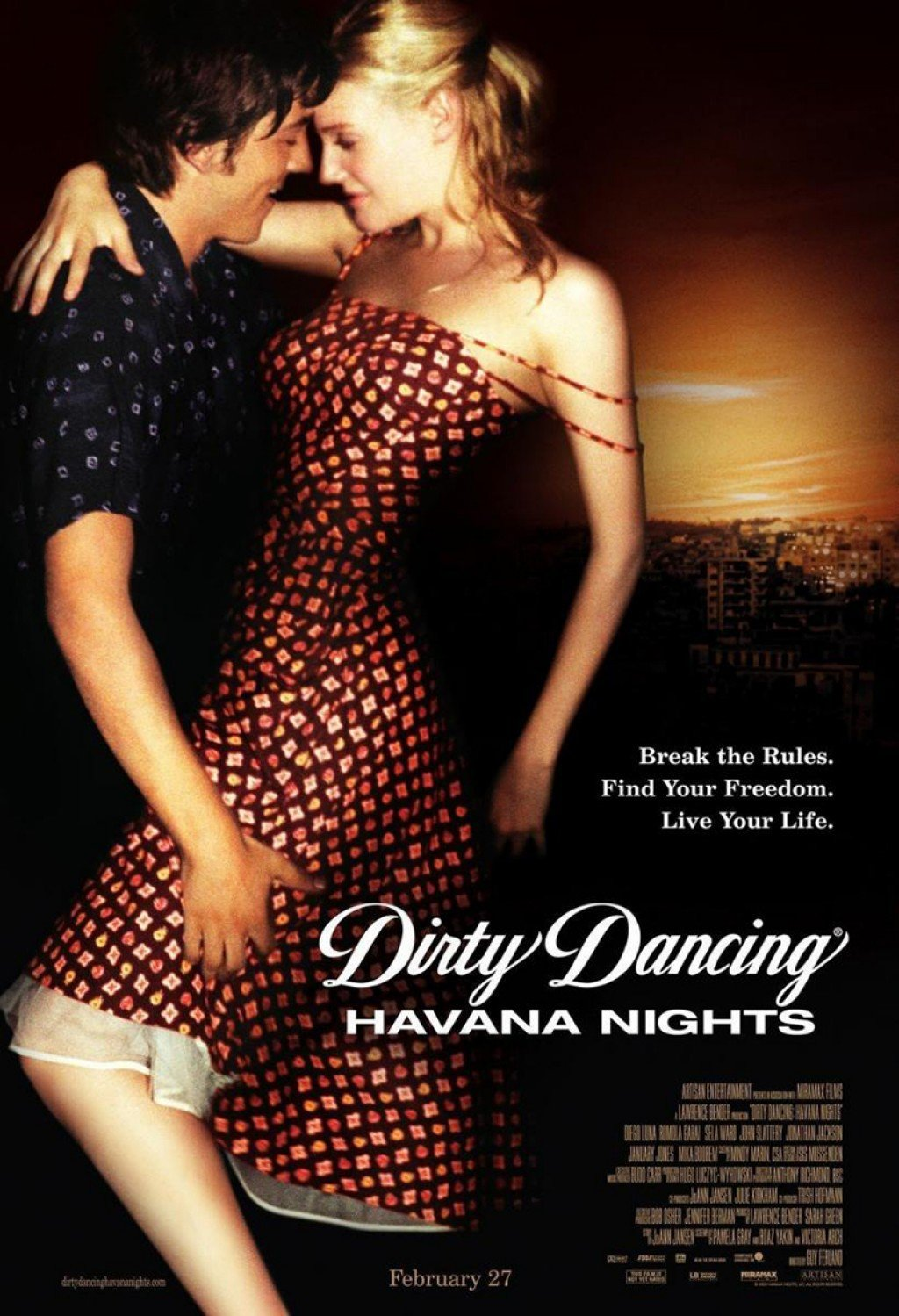 Dirty dancing 2 ver online dirty dancing havana nights - Pelicula dirty dancing ...