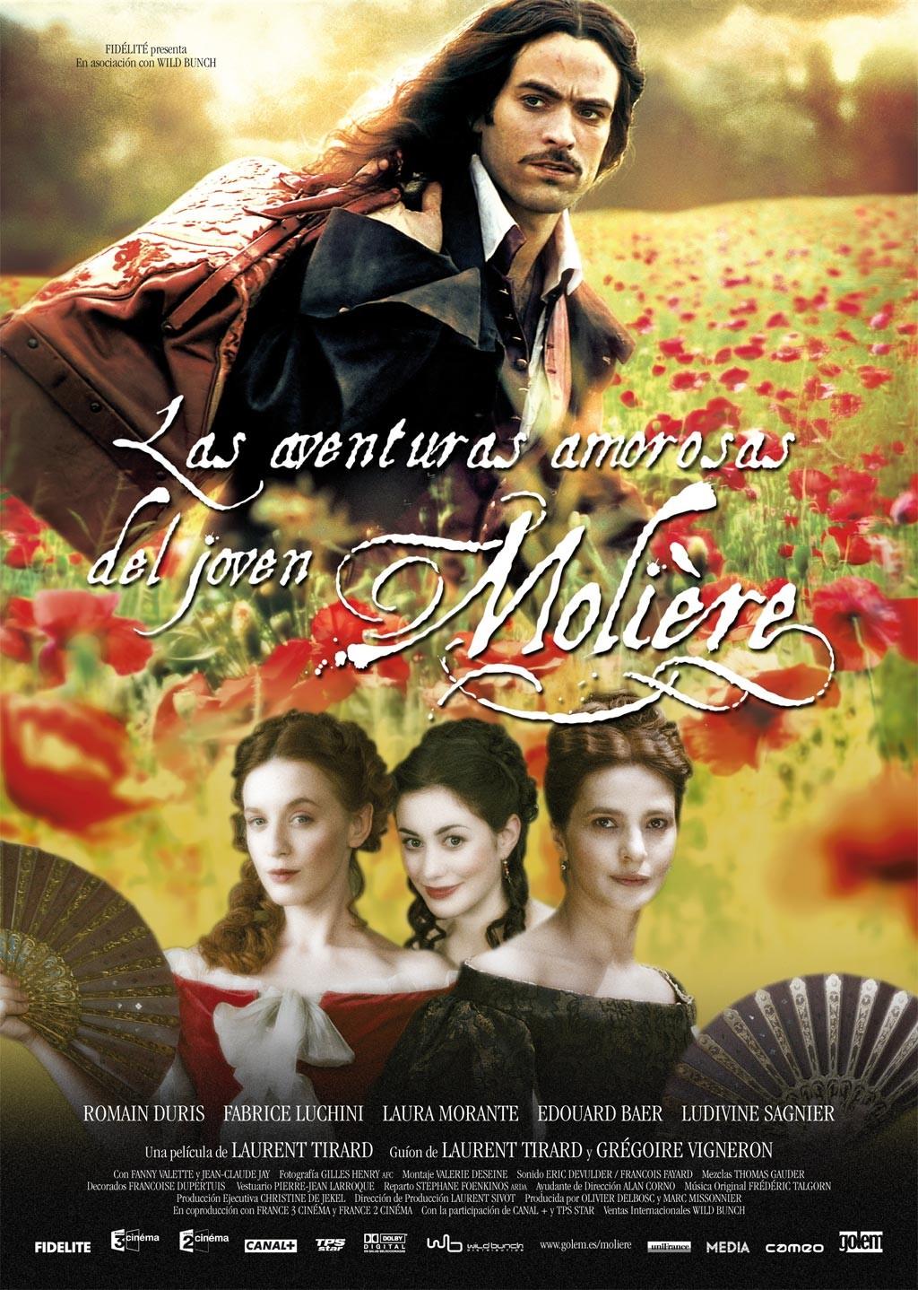 Las aventuras amorosas del joven Molière